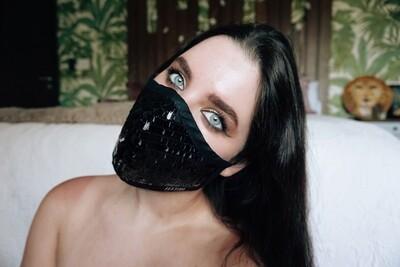 Luxury Sequin Mask