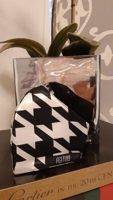 Black & White Festivo Mask