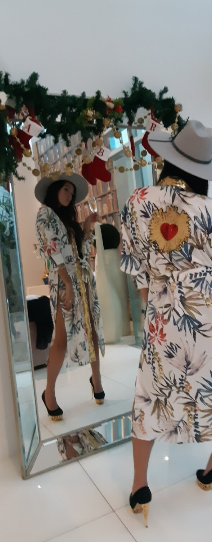 Tropical Heart Kimono