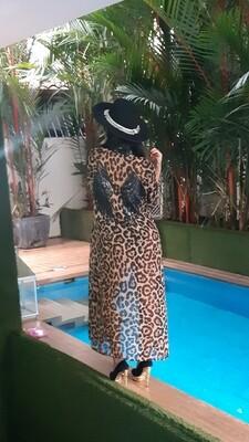The Flying Leopard Kimono