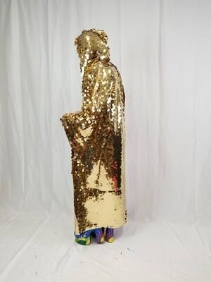 Gold Disco Ball Kimono