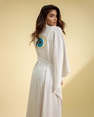 Third Eye Linen Kimono