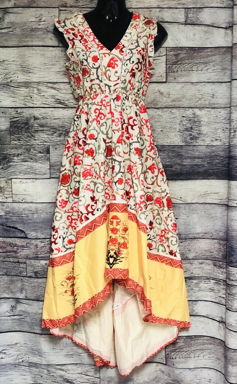 New Order Plus Hi-Low Floral Dress size S/M