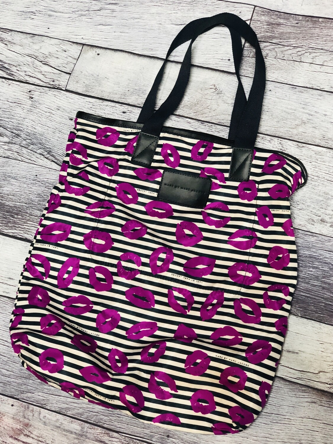 """Marc by MARC JACOBS """"LIPS"""" Nylon Tote Bag"""