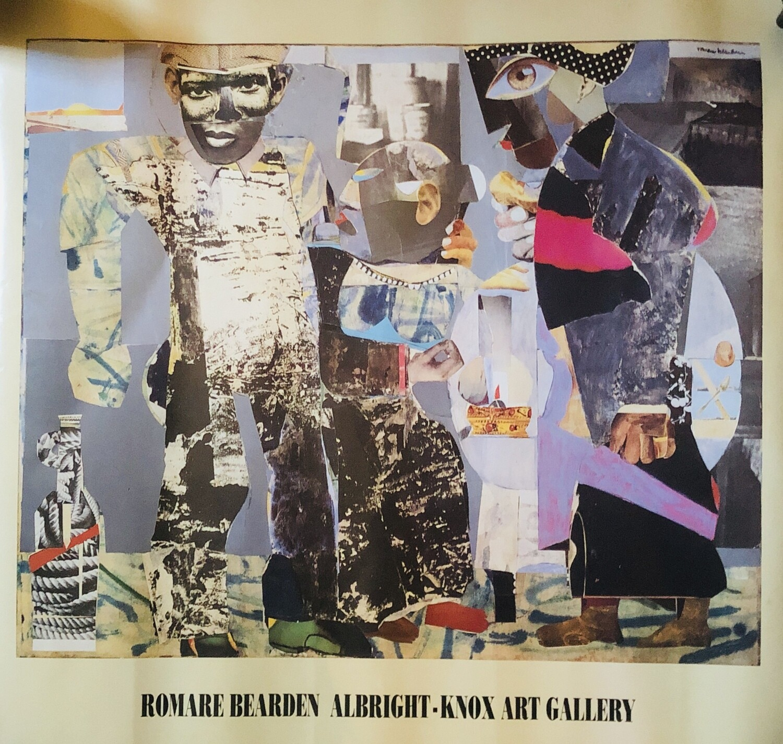 "Vintage ROMARE BEARDEN Exhibition Poster ""Return of the Prodigal Son"" 1991 $250"