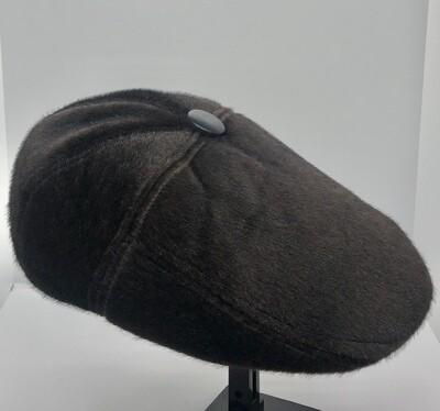 Mens Chocolate Brown Faux Fur Hat by KANGOL