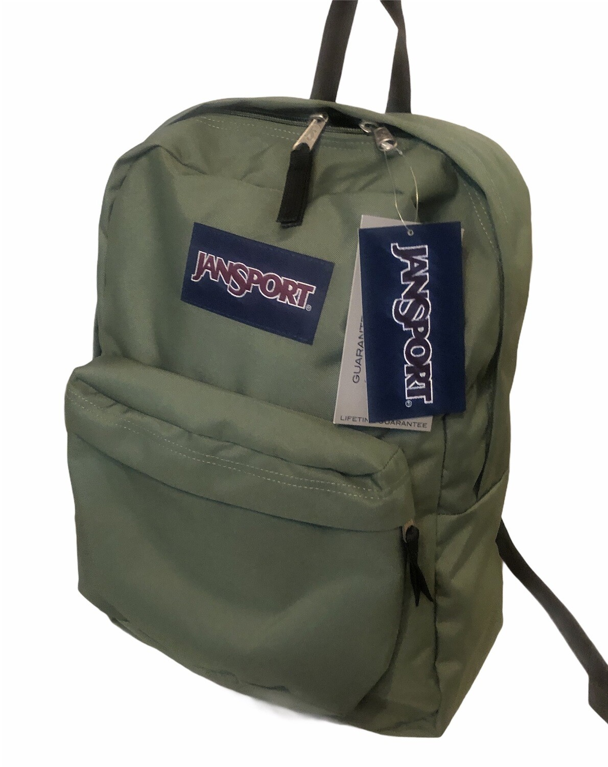 "New JANSPORT ""Superbreak"" Back Pack in Muted Green"