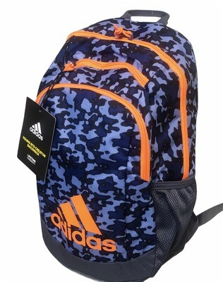 New ADIDAS Young BTS Creator Flow Blue Glow Backpack