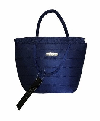 NEW TAHARI Lunch Tote Cooler in Navy Blue