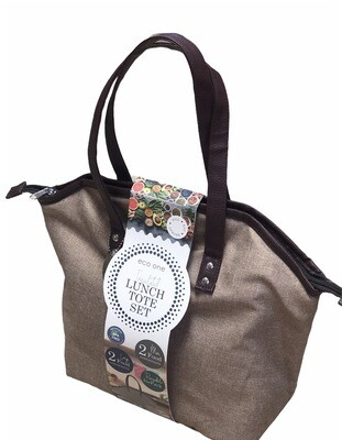 New ECO ONE Lunch Tote w/ Containers & Ice Pack