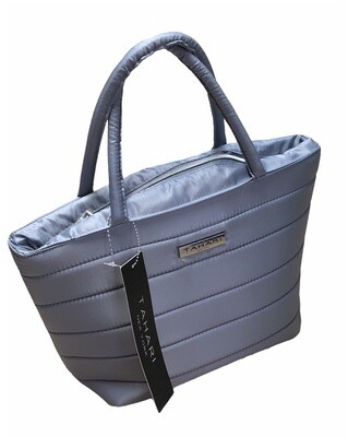 NEW TAHARI Lunch Tote Cooler in Gray