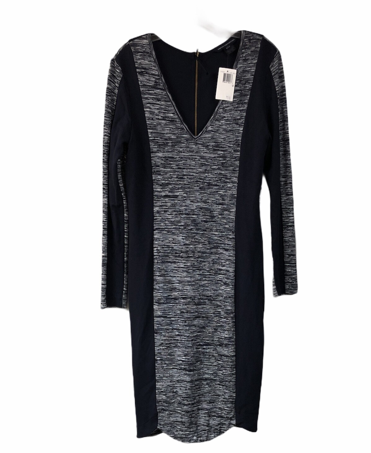 "New FRENCH CONNECTION ""City Block Space"" V Neck Dress size 12 $158"