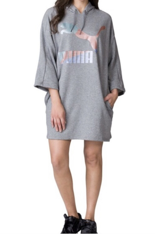 PUMA Glam Oversized Hoodie Dress size Medium