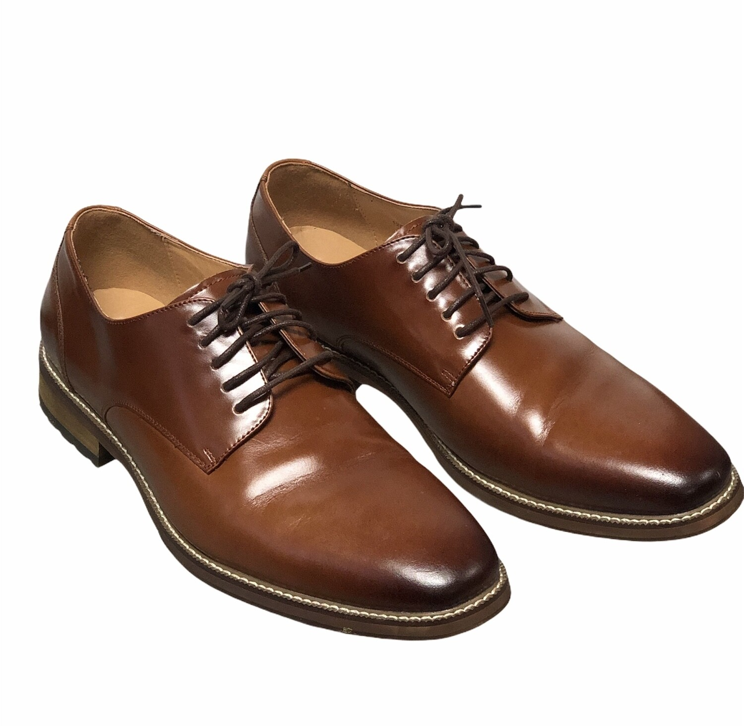 JOSEPH ABBOUD Thorton Plain Toe Lace-Up Oxford shoes 12D $100