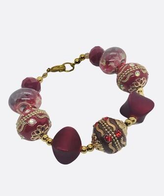 Red BOLLYWOOD Jewel Bracelet