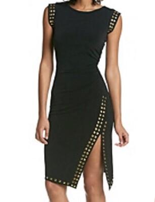 MICHAEL KORS Studded Jersey Shift Dress size Medium