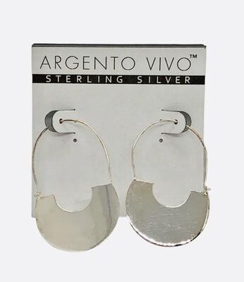 New ARGENTO VIVO Sterling Silver Earrings $78