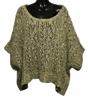 ONDA DEMAR Oversized Shrug Sweater size Large - 1X