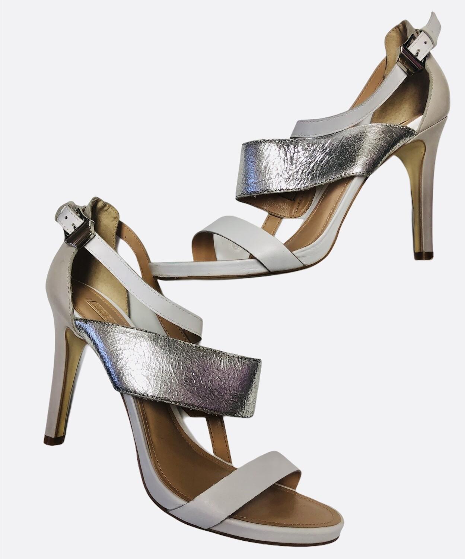 New AREZZO Tri Color Strappy Heels size 9