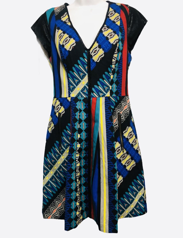 PLENTY Tracy Reese Mixed Media Dress size 8