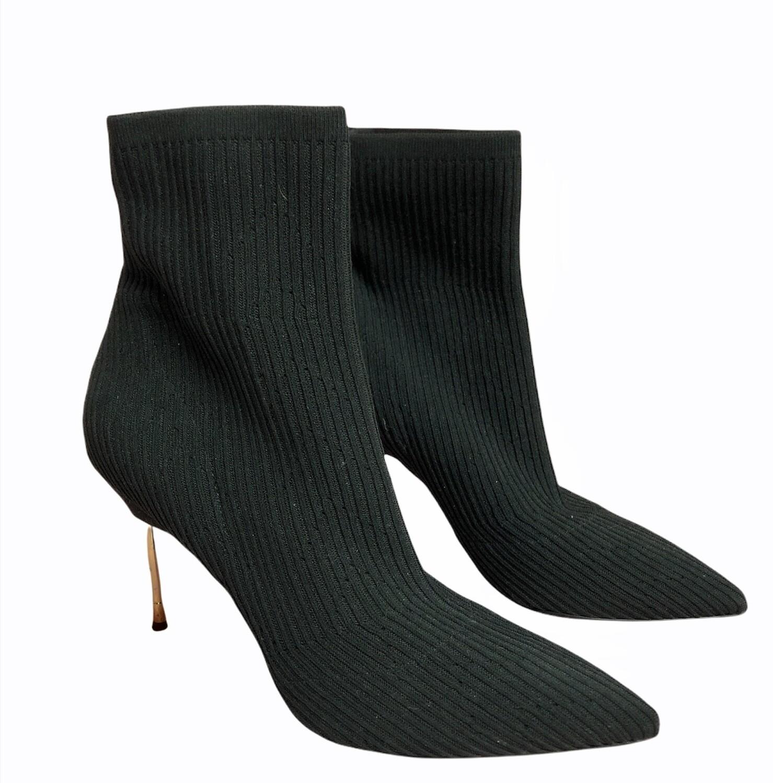 KURT GEIGER Ribbed Sock Stiletto Boots sz 8