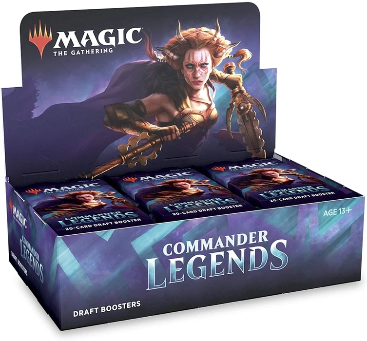 Magic the Gathering - Commander Legends Draft Booster Box (Pre-Order)
