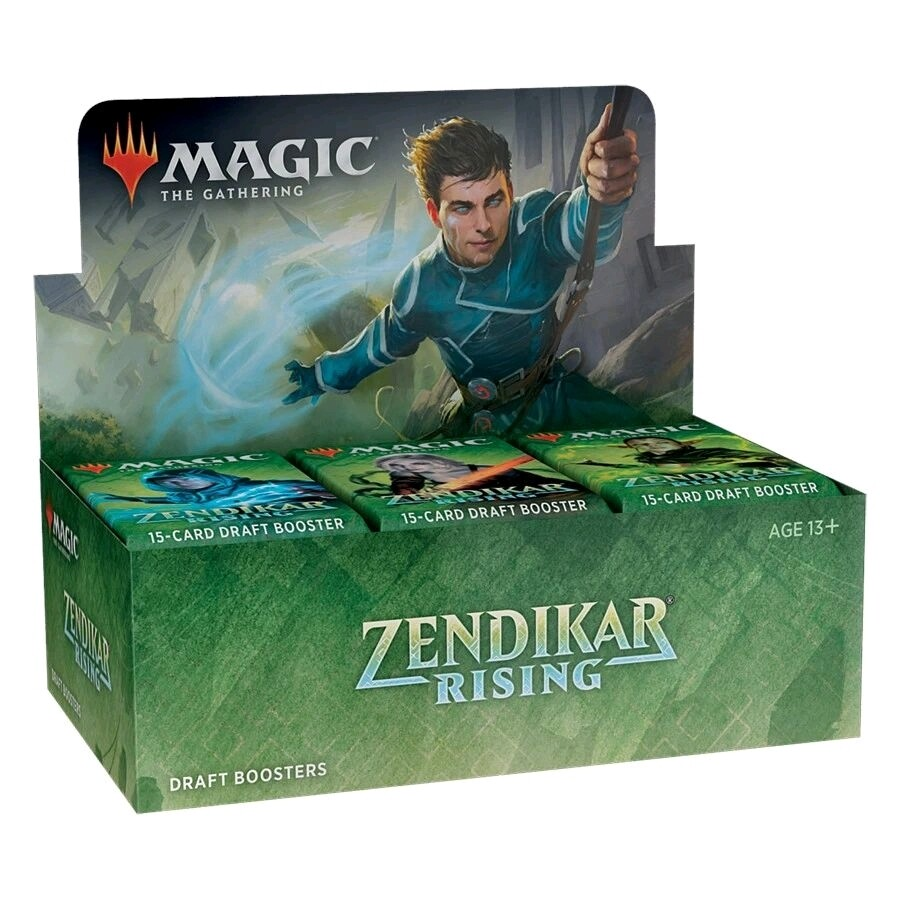 Magic the Gathering - Zendikar Rising Draft Booster (Pre-Order)