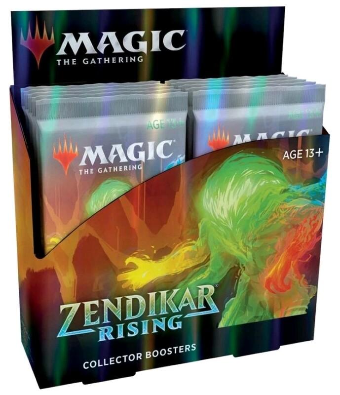 Magic the Gathering - Zendikar Rising Collector Booster (Pre-Order)