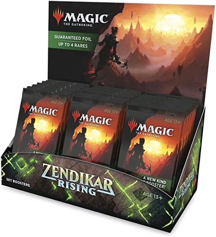 Magic the Gathering - Zendikar Rising Set Booster (Pre-Order)