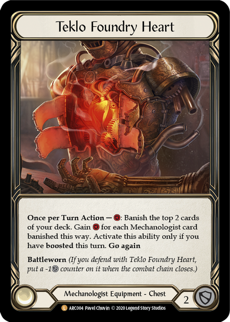 Teklo Foundry Heart - Unlimited (Cold Foil)