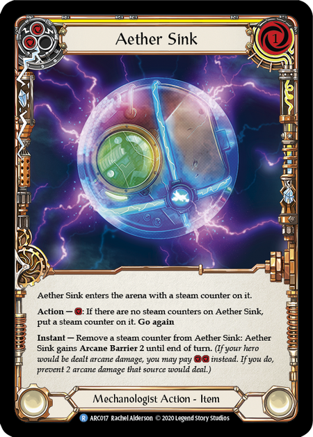 Aether Sink - Unlimited (Rainbow Foil)