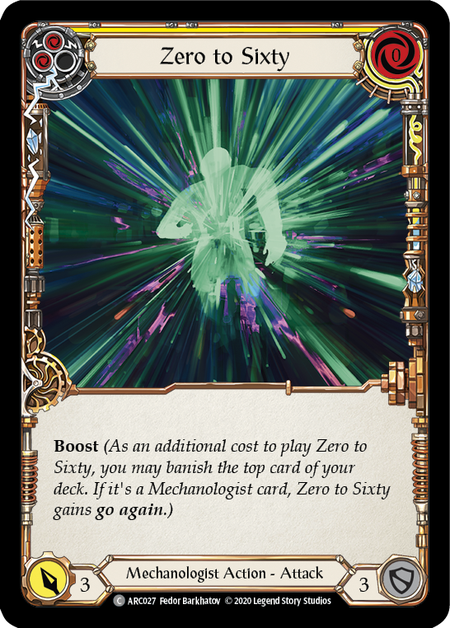 Zero to Sixty - Unlimited (Rainbow Foil)