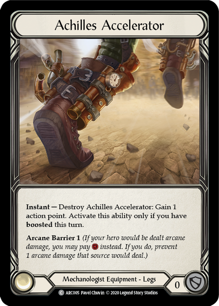 Achilles Accelerator - Unlimited (Cold Foil)
