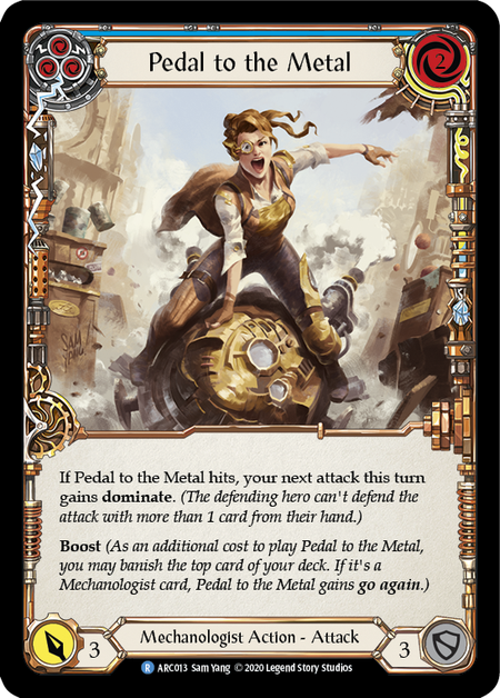 Pedal to the Metal - Unlimited (Rainbow Foil)