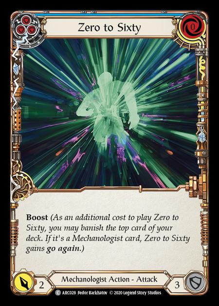 Zero to Sixty - Unlimited (Rainbow Foil)
