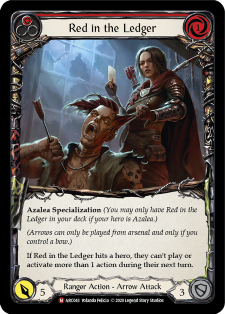 Red in the Ledger - Unlimited (Rainbow Foil)