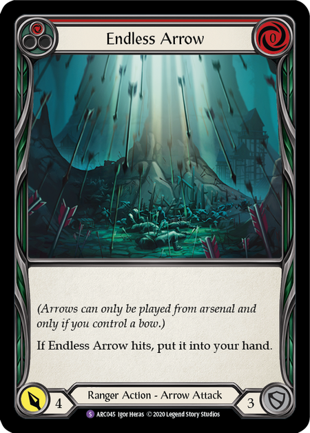 Endless Arrow - Unlimited (Rainbow Foil)