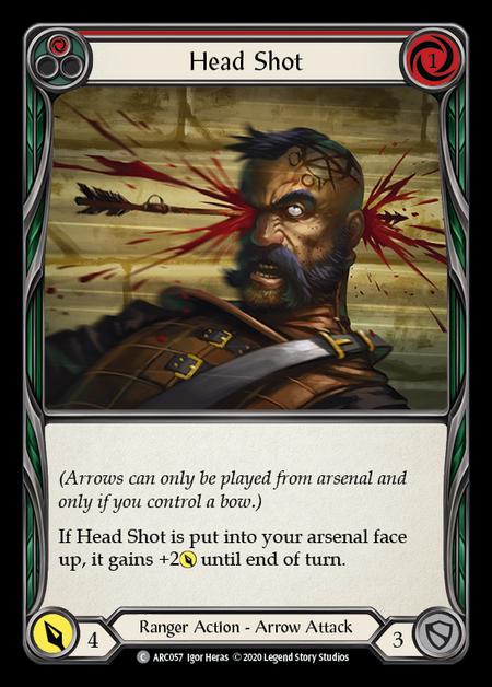Head Shot - Unlimited (Rainbow Foil)