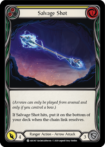Salvage Shot - Unlimited (Rainbow Foil)
