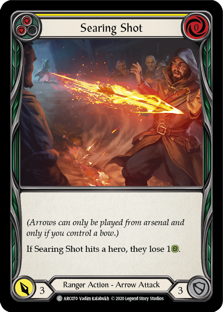 Searing Shot - Unlimited