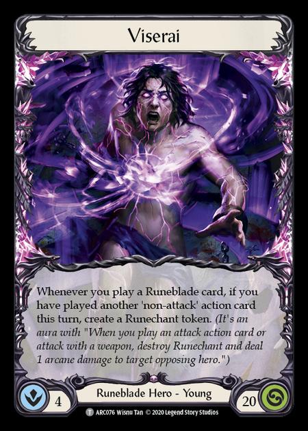 Viserai - Unlimited (Rainbow Foil)