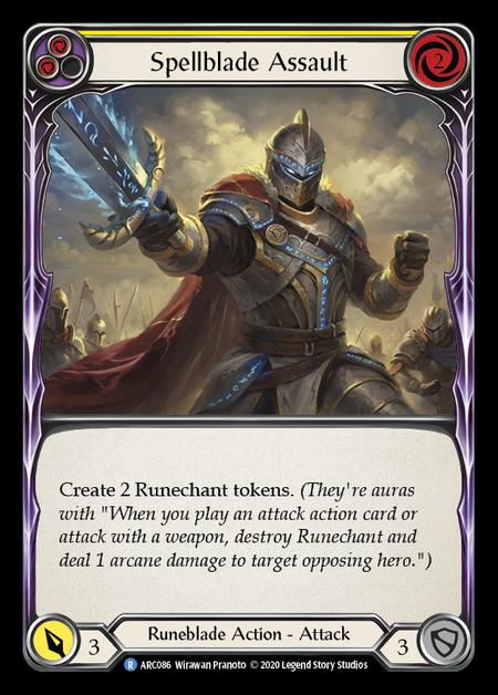 Spellblade Assault - Unlimited (Rainbow Foil)