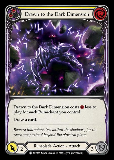 Drawn to the Dark Dimension - Unlimited