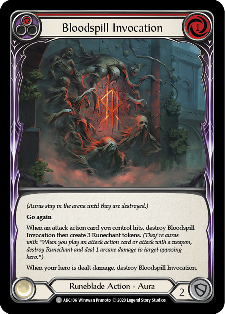 Bloodspill Invocation - Unlimited (Rainbow Foil)