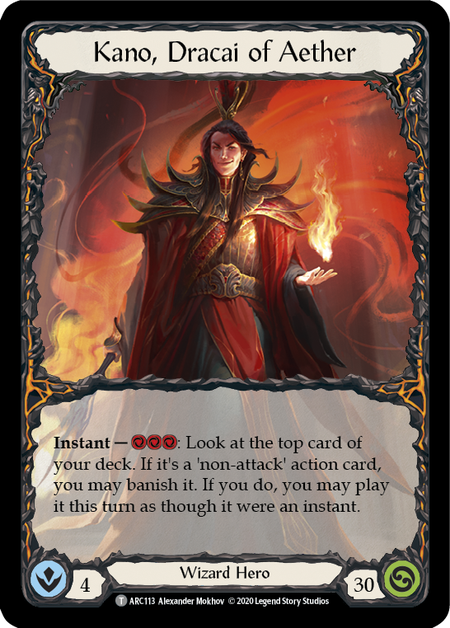 Kano, Dracai of Aether - Unlimited (Rainbow Foil)