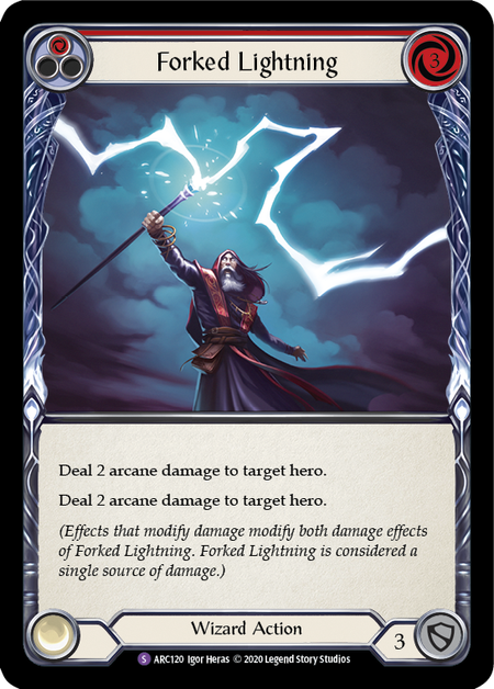 Forked Lightning - Unlimited (Rainbow Foil)