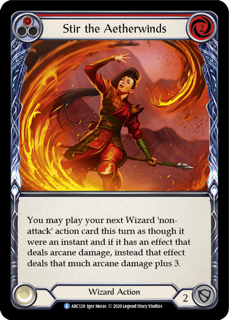 Stir the Aetherwinds - Unlimited (Rainbow Foil)