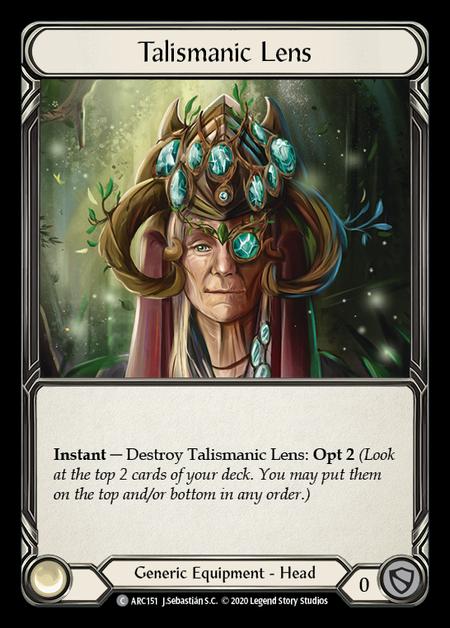 Talismanic Lens - Unlimited (Cold Foil)