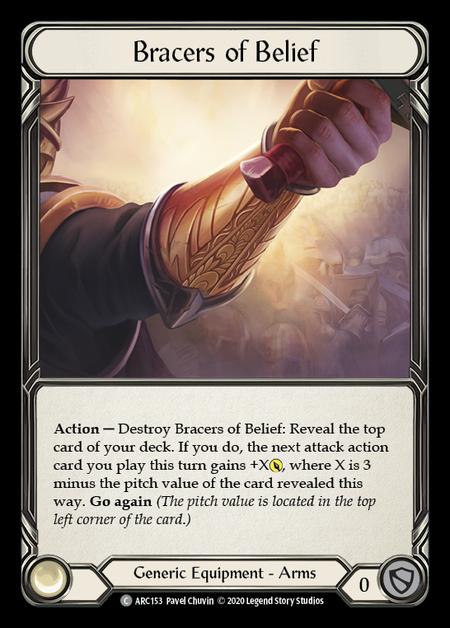 Bracers of Belief - Unlimited