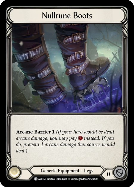 Nullrune Boots - Unlimited (Cold Foil)